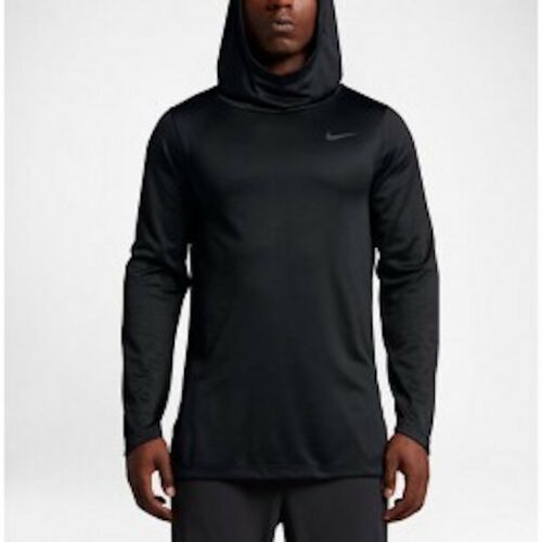Nike Air Elite Dri-Fit Triple Black L//S Hoodie Men/'s Size S-3XL 829352-010 New