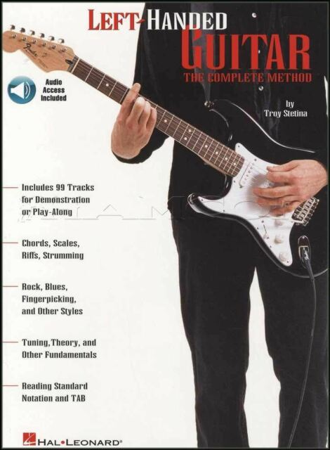 Learn To Play Guitar Left Handed : left handed guitar the complete method learn how to play for beginners book cd for sale online ~ Vivirlamusica.com Haus und Dekorationen