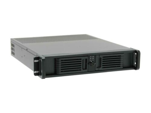 iStarUSA D-200-PFS Black Steel 2U Rackmount Server Case