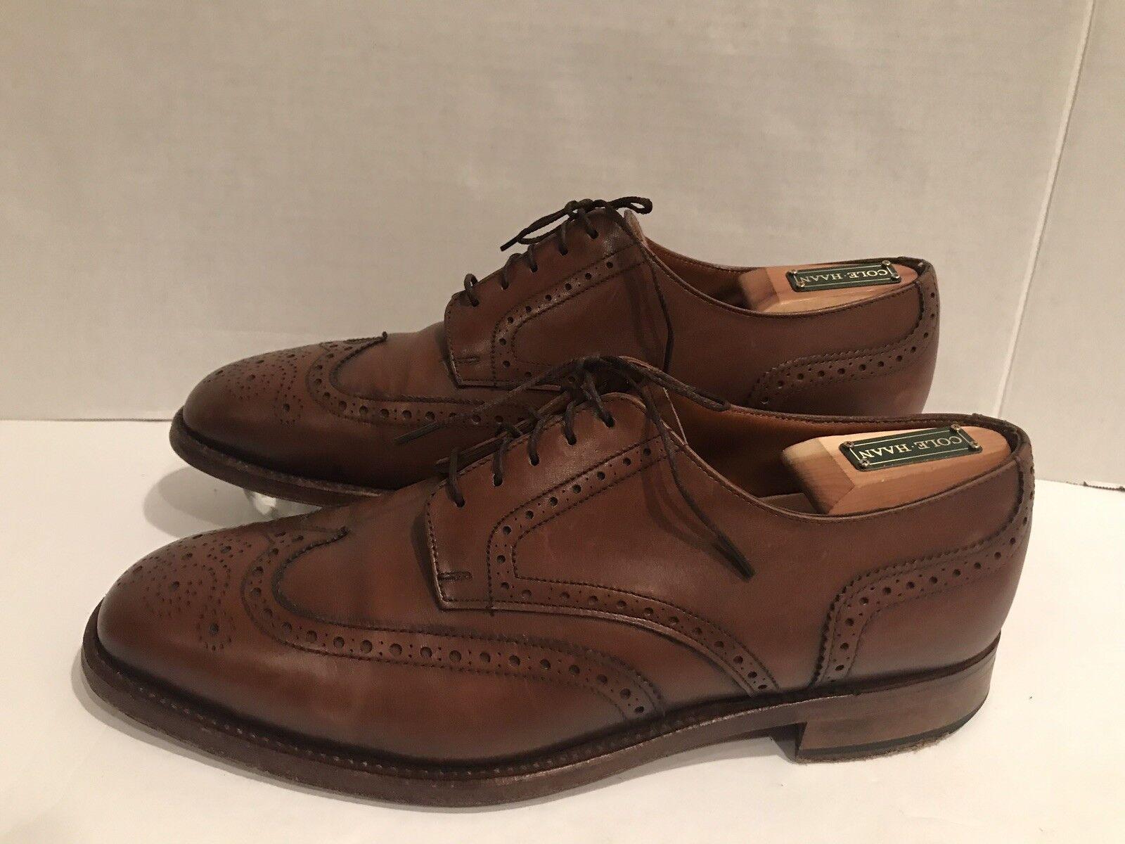 il più economico Steed Ambassador Collection Collection Collection Uomo Marrone Leather Wingtip Dress scarpe Dimensione 10.5 D  online economico