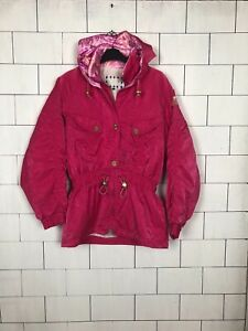Urban Retro Uk Ski 495 Coat Bold Style Jacket Vintage Windbreaker Bright 14 dAqXwff