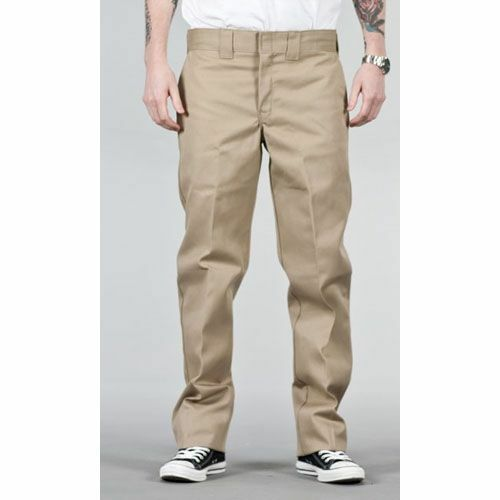 Dickies Pants Beige Size 48X30 874 Classic Fit Work Pants Khaki