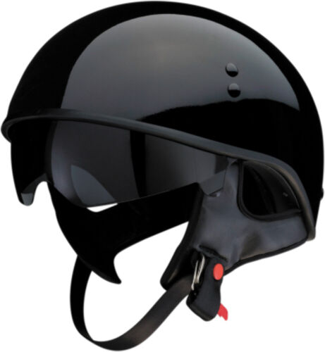 Z1R Vagrant 3//4 Half Helmet Solid Motorcycle Street Bike DOT Mens Womens Harley