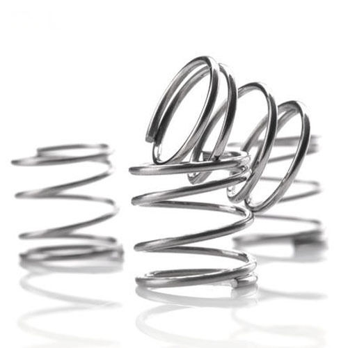10Pcs 0.8mm Wire Diameter Stainless Steel Compression Spring 10-50mm L 13-14mmOD