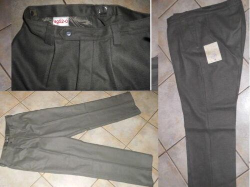 Größe  sg 52-0 Lang Schlanke 50,original NVA graue Ausgangs Uniform HOSE  Soldat