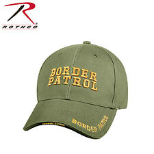 Rothco 9368 Deluxe Border Patrol Low Profile Cap - Olive Drab