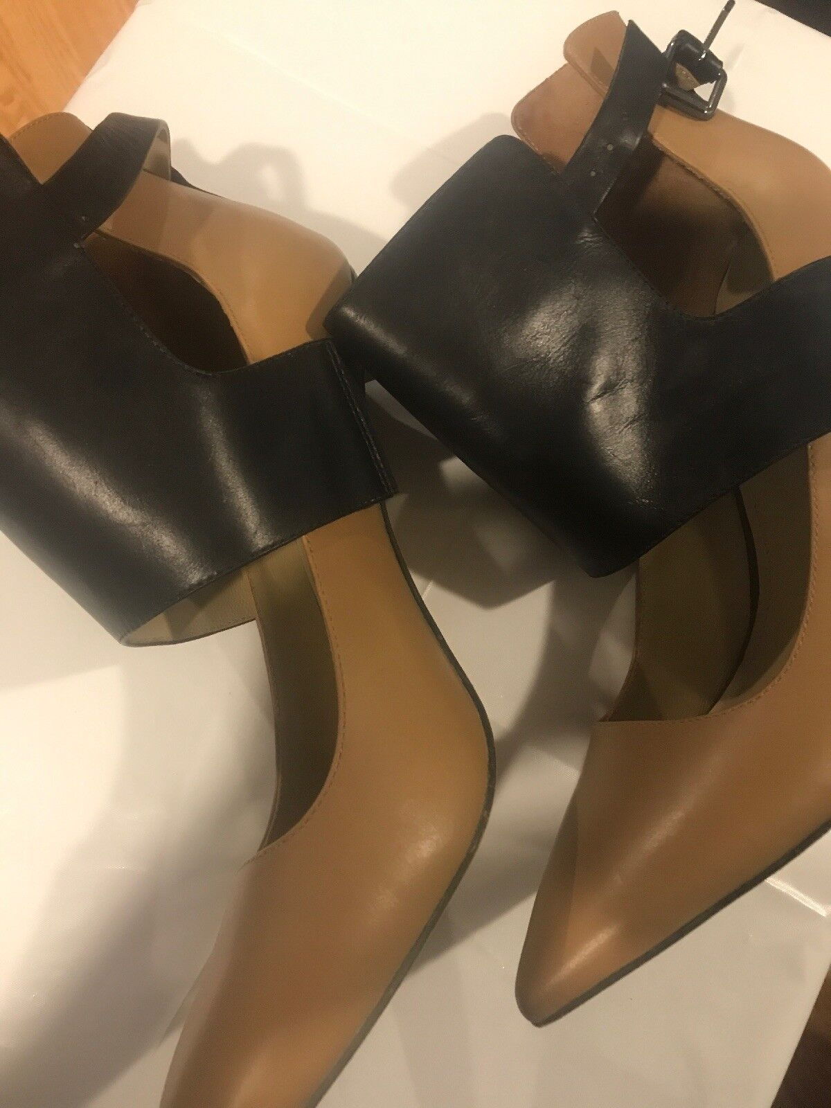 Kenneth Cole New York  Bonnet Pre-owned Pumps Heels Ankle Cuff Schuhes 9.5 M Pre-owned Bonnet fdb3f2