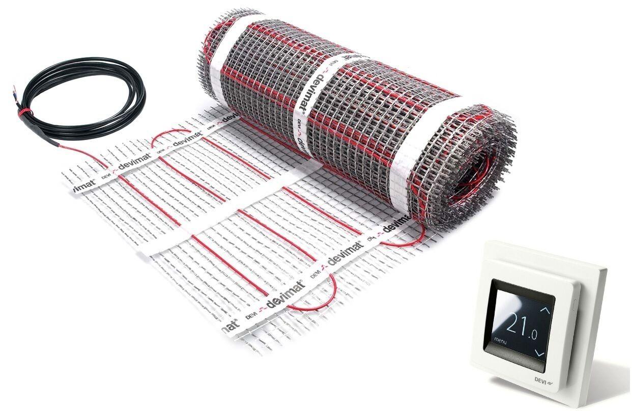 DEVI Devimat 2,0 m2 m2 m2 Dünnbett Set mit Devireg Touch Fußbodenheizung DTIF150 4d31fb