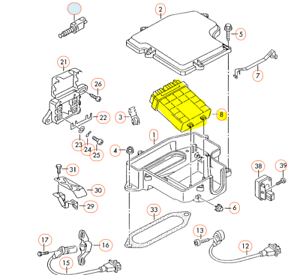 [DIAGRAM_38EU]  AUDI A4 A4Q 2.8L AHA 1996-98 ENGINE CONTROL UNIT 4D0907551A | eBay | A4 2 8 L Engine Diagram |  | eBay