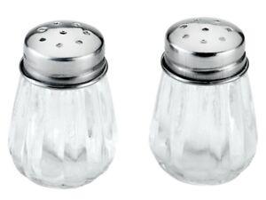 Gewürzmehl-Set Salz und Pfefferstreuer Streuer-Shaker-Glashalter-SWG