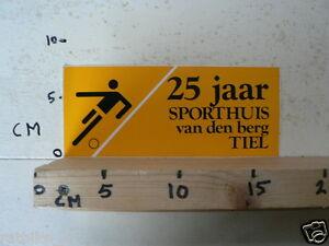 STICKER-DECAL-25-JAAR-SPORTHUIS-VAN-DEN-BERG-TIEL-VOETBAL-SOCCER
