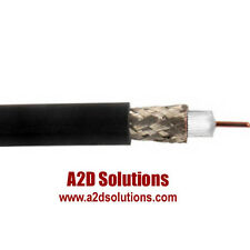 500 Ft Belden 1855A Black RG59 Sub-Mini 23 AWG Solid Coax OVERSTOCK Clearance