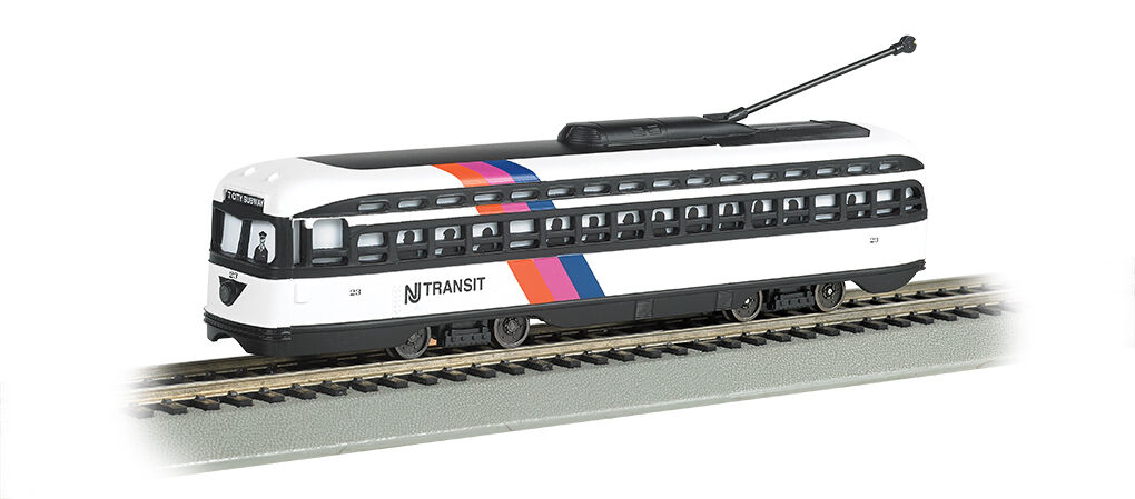 Bachmann HO Nuovo Jersey Transit - PCC Streetcar DCC Sound Value 60506 NEW