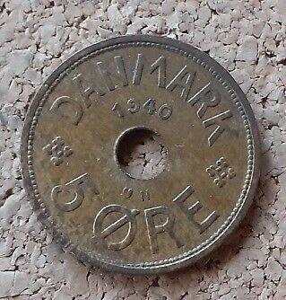 Danmark, mønter, 5 Øre