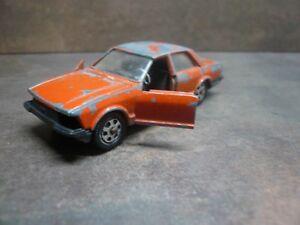 Mattel-Mebetoys-Ford-Granada-A-121-Dark-orange-NERA-ARANCIONE