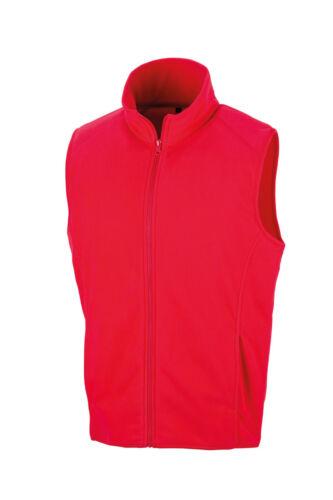 Unisex Fleece Bodywarmer Mens /& Womens Gilet Result Core Micofleece Fleece R116X