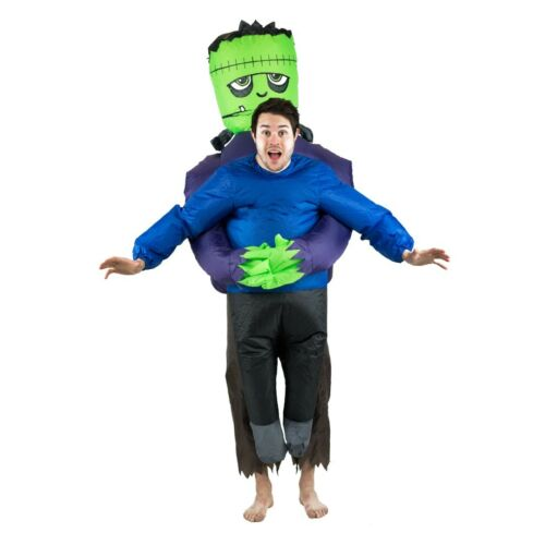 Bodysocks® Inflatable Frankenstein Scary Halloween Funny Lift You Up Costume