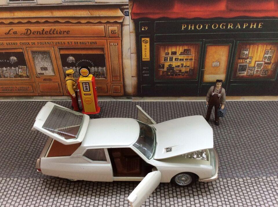 Modelbil, Citroen SM 1972 Auto-Pilen model 339, skala 1/43