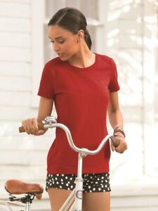 Fruit-of-the-Loom-HD-Cotton-Women-039-s-Short-Sleeve-T-Shirt-L3930R