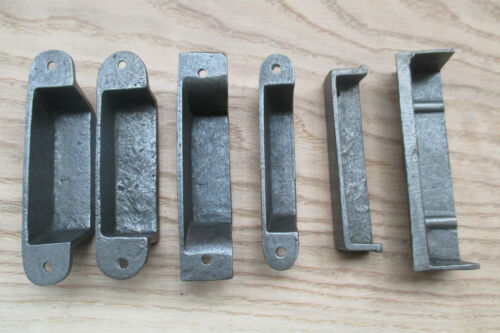 CAST IRON ANTIQUE VINTAGE OLD RIM LOCK LATCH KEEP STRIKER PLATE Reproduction