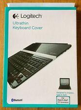 LOGITECH Ultrathin Keyboard Cover Apple iPad 2& iPad 3,Bluetooth Interface 172GA