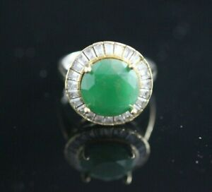 TURKISH-HANDMADE-EMERALD-STERLING-SILVER-925K-RING-SIZE-6-7-8-9-10
