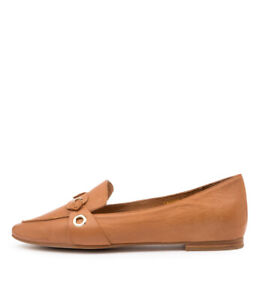 New Top End Santos Tan Leather Womens Shoes Casual Shoes Flat
