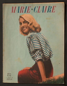 039-MARIE-CLAIRE-039-FRENCH-VINTAGE-MAGAZINE-1-JULY-1942