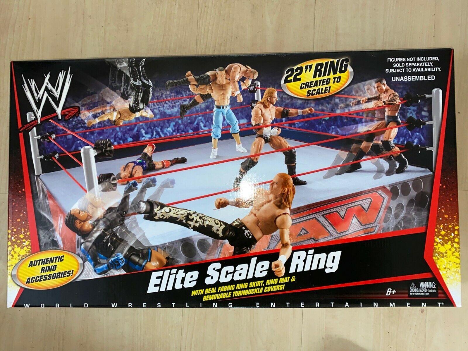 WWE Mattel Original Elite Scale ringa Playstat, Flashback, Authentic, WWF