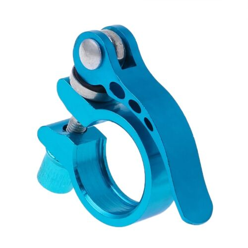 Aluminum Alloy Seatpost Clamp Quick Release MTB Cycling 28.6 Seat Bike Accessory