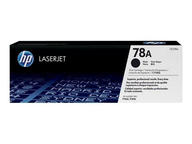 1 x HP CE278A 78A Original OEM Black Laser Toner Cartridge For Printer P1566
