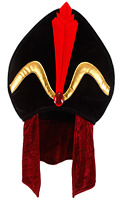 Jafar Hat Aladdin Turban Disney Costume Accessory