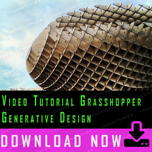 Amical Video Tutorial Grasshopper: Generative Design - Architecture