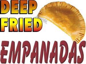 """Concession Decal 10/"""" Empanadas Restaurant Food Catering"""