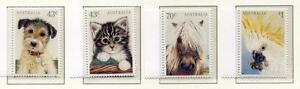 40167-Australia-1991-MNH-Domestic-Animals-4v