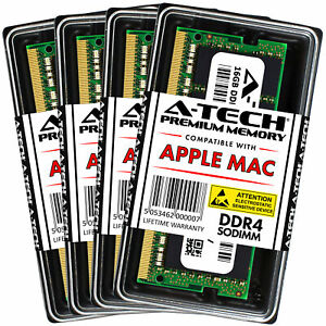 64GB 4x16GB DDR4 2666 SODIMM Memory RAM for 2019 APPLE...