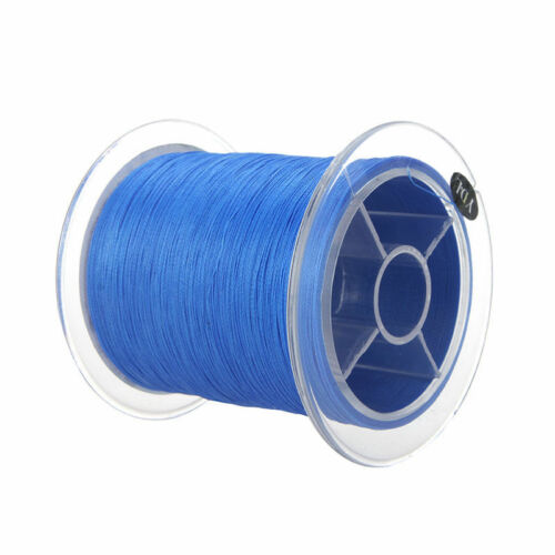 Blue 300M 20LB Dyneema Fishing Line Braided 4 Strands Polymer Fiber