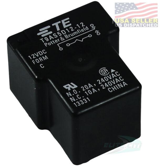 2 Tyco Potter /& Brumfield W33-T4C1Q-5 2 Pole 125//250VAC 5A Rocker Switch Breaker