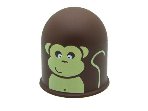 Schutzkappe Anhängerkupplung Lustige Figur Jungle Tropenwald Affe Äffchen Monkey
