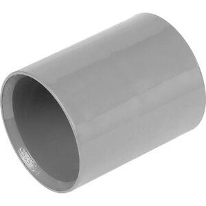 FreePost NEW plumbing pipe Solvent Weld coupler joiner 32mm white UK