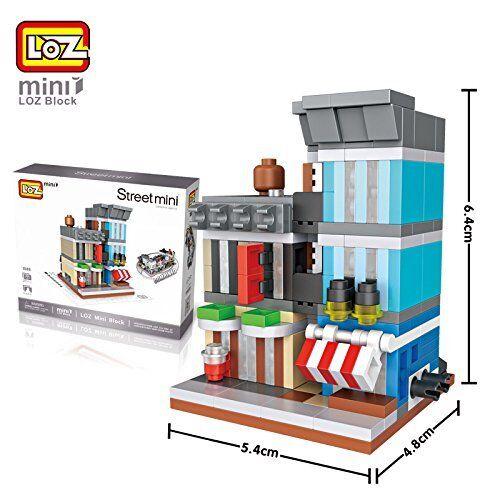 Loz 1509. n gauge building Kit construction miniaturized Agency of Detectives.
