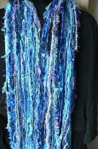 FROZEN-ELSA-Colours-Knotted-Scarf-or-Decor-Hanger-2-5-Met-50-Strands-FE