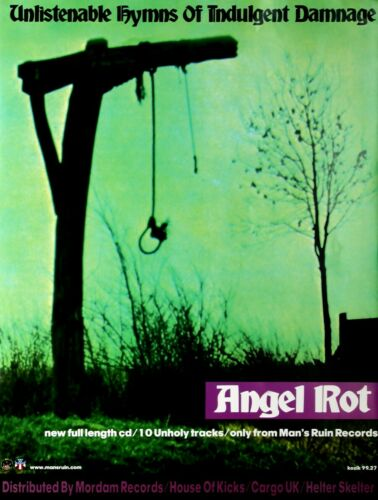Frank Kozik Angel Rot Unlistenable Hymns of Indulgent Damage Posterdruck
