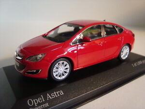 Minichamps-410042001-Opel-Astra-2012-Rot-1-43-NEU-OVP