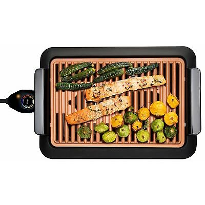 Gotham Steel Smokeless Electric Grill XL, As Seen on TV, Nonstick, $99 Value!