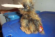 TY Beanie Buddy - BEAK THE KIWI BIRD   (14 inch) -MWMT's Stuffed Animal Toy