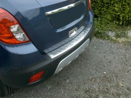 Protector paragolpes para Opel Mokka Moca X Chevrolet Trax en acero cromado