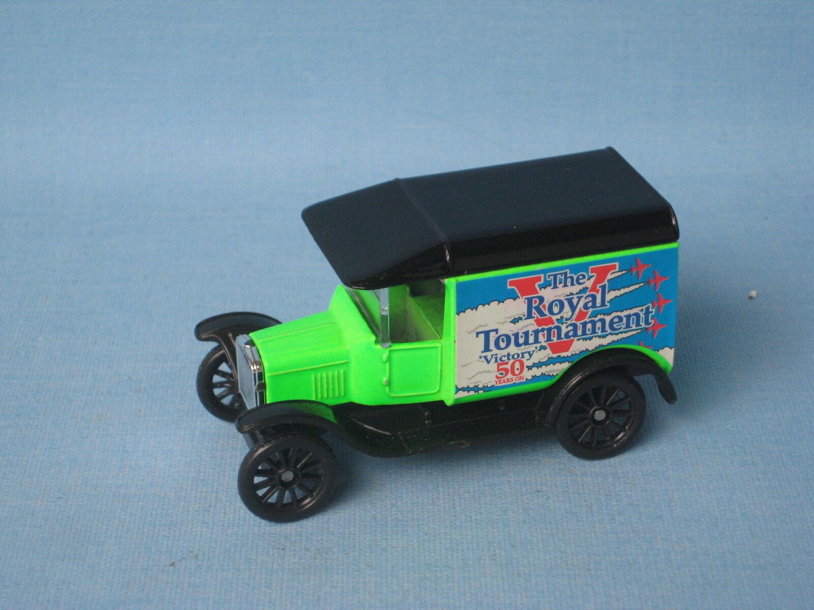 Matchbox Ford Model T Van Royal Tournament Green Pre-Pro MB-44