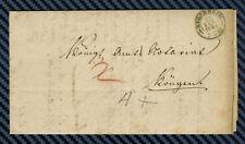 -= Lettre de KIRCHHEIM (royaume de Wurtemberg) - 1849 =-