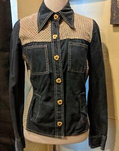 Vintage-70s-Suede-Leather-Jean-Floral-Hippy-Roncelli-Jacket